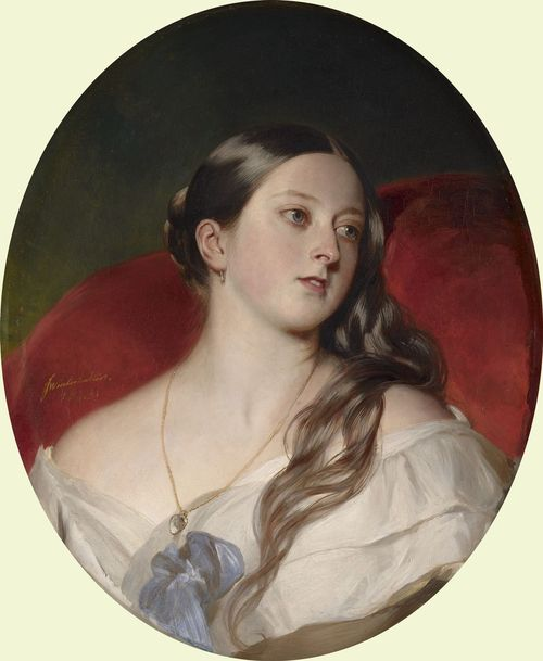 portrait of victoria credit: royal collection