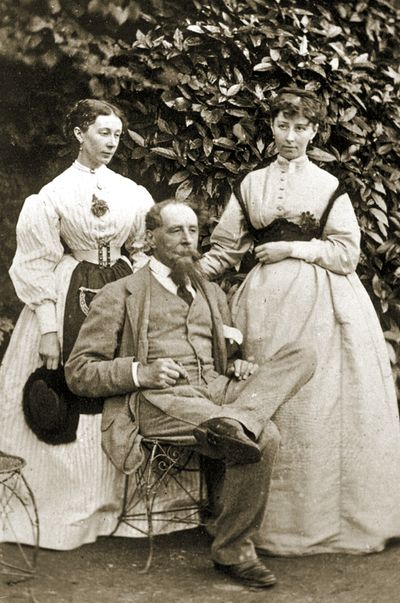 the charles dickens's family