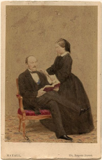 queen victoria and albert reading book credit: national portrait gallery