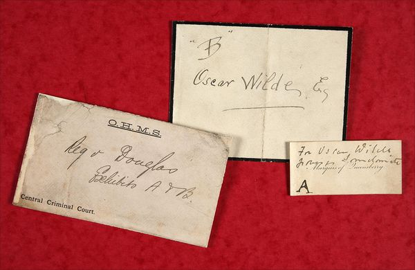 oscar wilde and marquess of queensberry