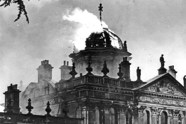 1940 castle howard fire
