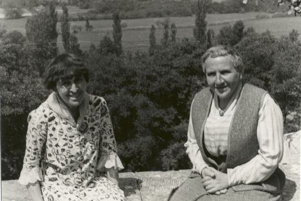 alice b toklas and gertrude stein france