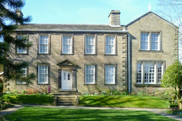 the parsonage haworth maria bronte